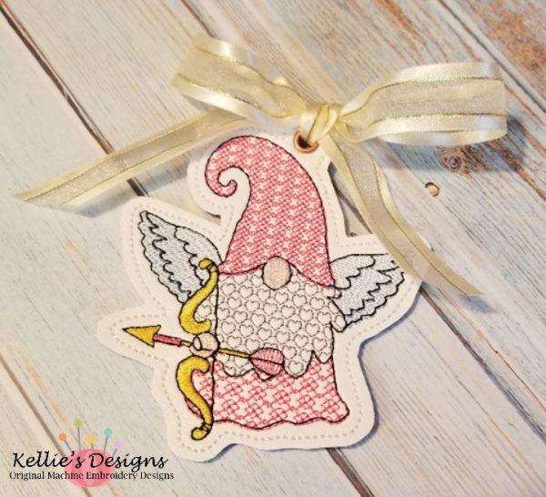 Cupid Gnome Ornament