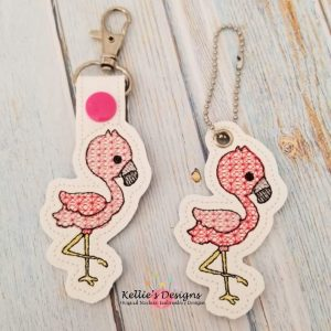 Flamingo Snap Tab Set