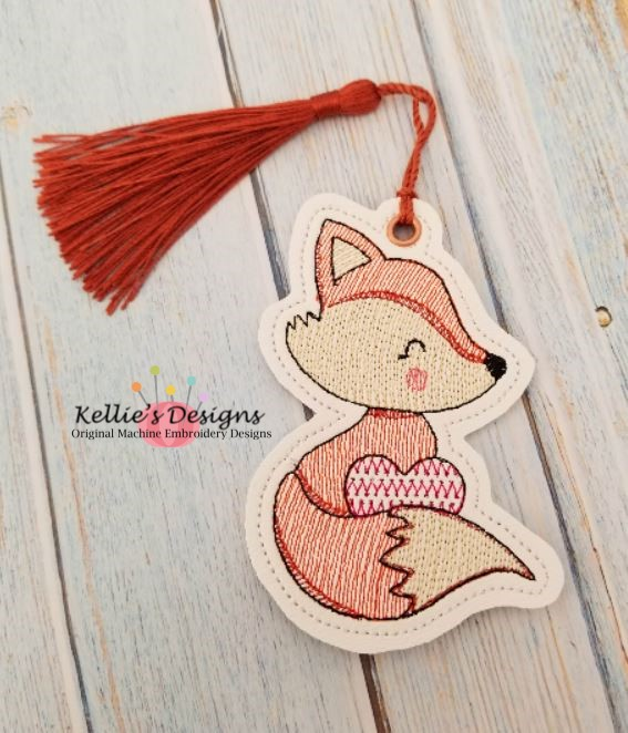 Valentine Fox Ornament