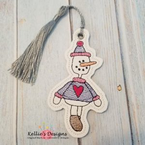 Prim Snowman Ornament