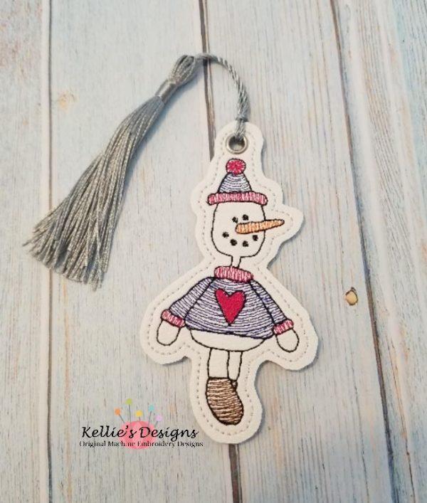 Prim Snowman Ornament