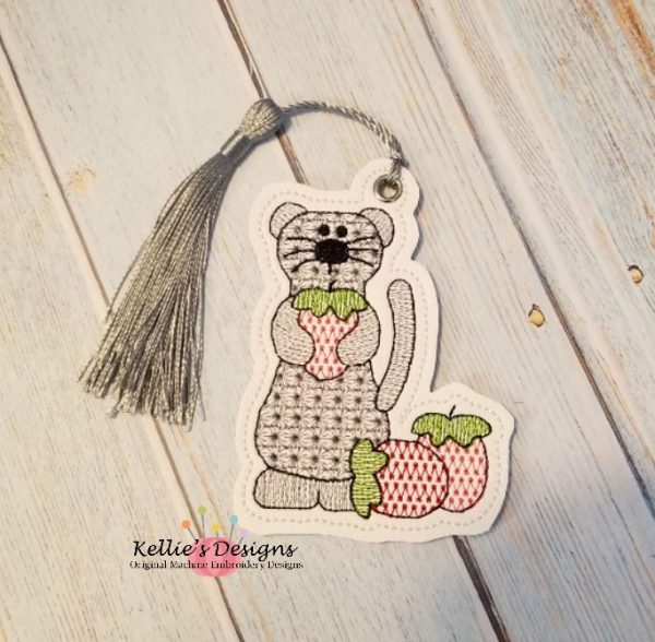 Strawberry Ferret Ornament