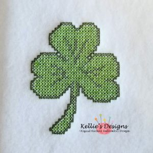 Cross Stitch Shamrock