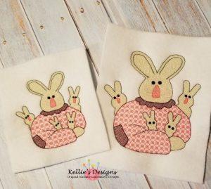 Sketch Mamma Bunny Set