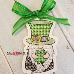 Shamrock Gnome Ornament