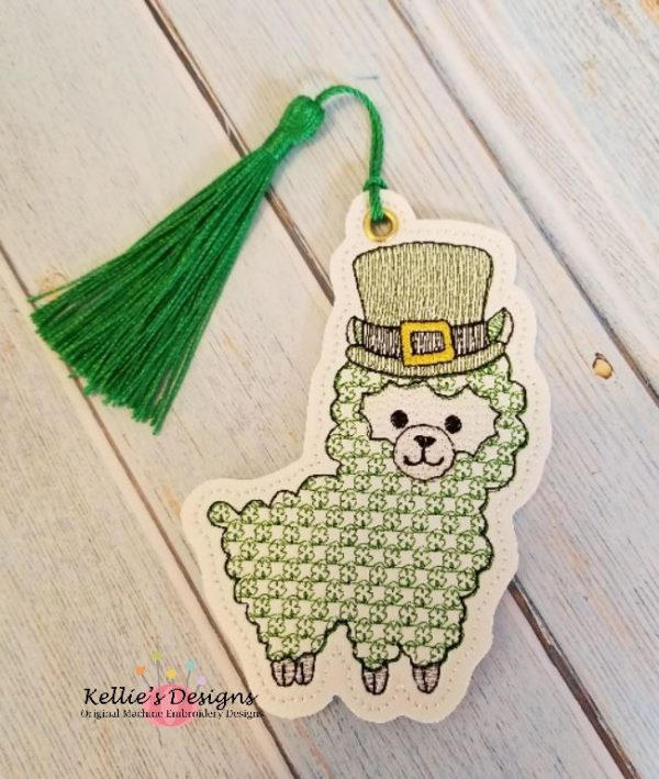 Shamrock Llama Ornament