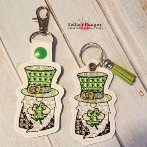 Shamrock Gnome Snap Tab Set