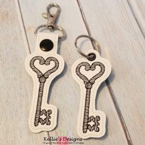 Key To My Heart Snap Tab Set