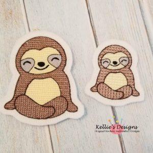 Sloth Feltie Set
