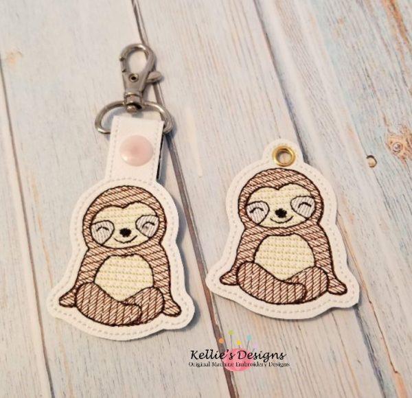 Sloth Snap Tab Set