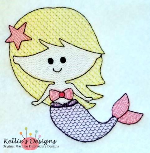 Sketch Mermaid Set