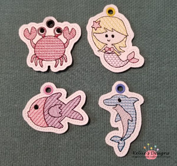 Under The Sea Charms - Set 1