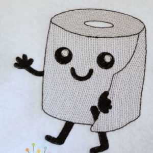 Sketch Toilet Paper Set