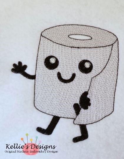 Sketch Toilet Paper Set