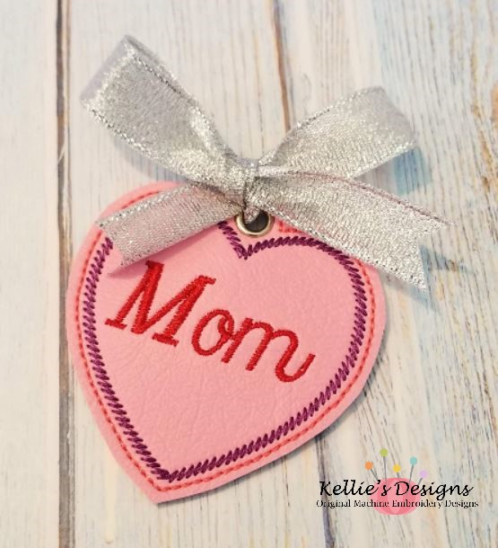Mom Heart Ornament