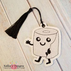 Toilet Paper Bookmark/Ornament