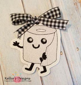 Sketch Toilet Paper Ornament/Bookmark