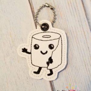 Toilet Paper Charm