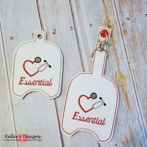 Essential Hand Sanitizer Holder Set