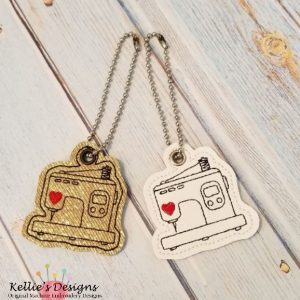 Embroidery Machine Charm