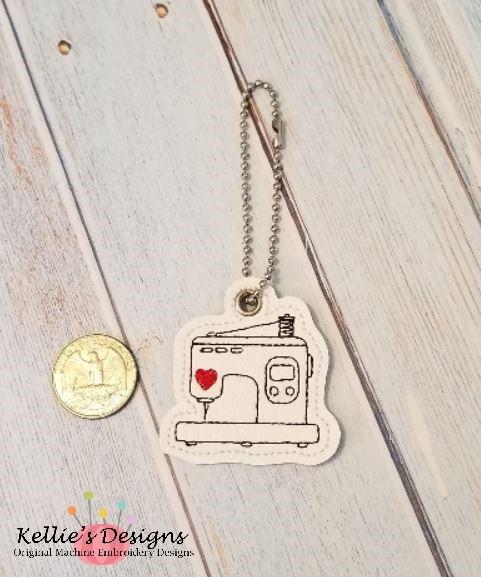 Embroidery Machine Charm
