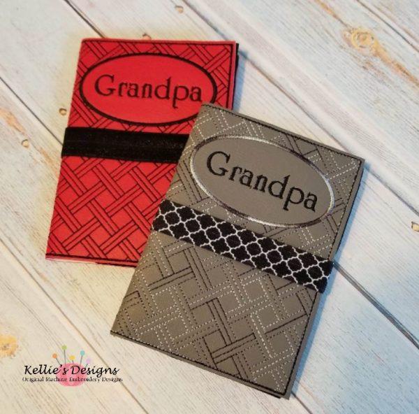 Grandpa Mini Composition Book Cover