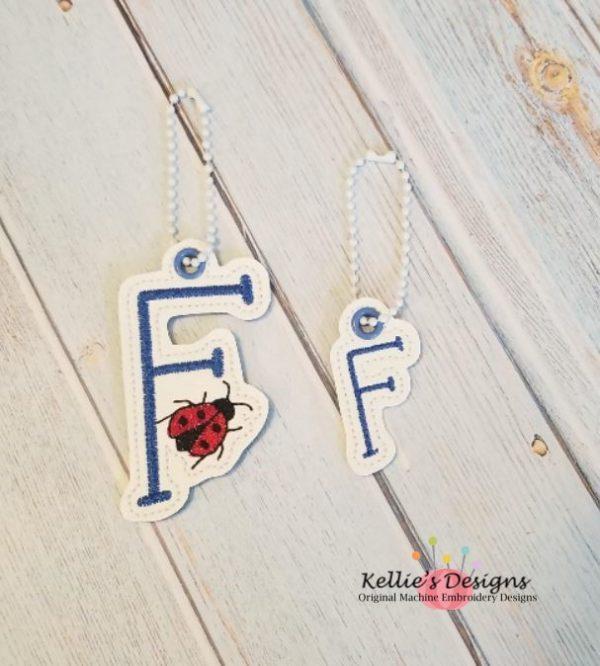 Ladybug Letter F