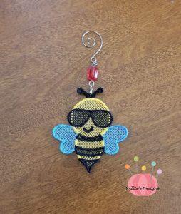 FSL Bee Ornament