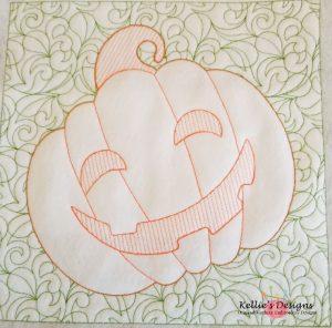 Pumpkin Quilt Block