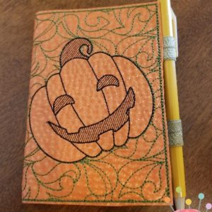 Pumpkin Notebook Cover