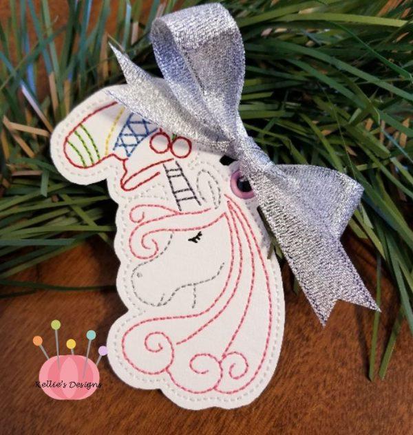 Whimsical Unicorn Ornament #10