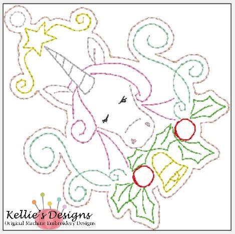 Whimsical Unicorn Ornament #3