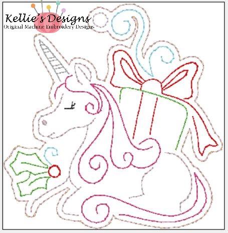 Whimsical Unicorn Ornament #4
