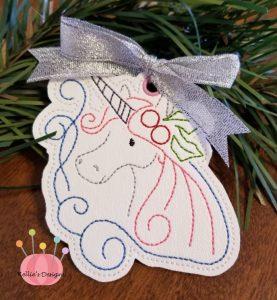 Whimsical Unicorn Ornament #6