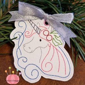 Whimsical Unicorn Ornament #6