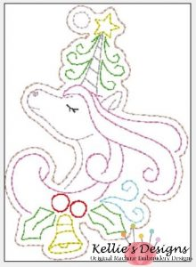 Whimsical Unicorn Ornament #7