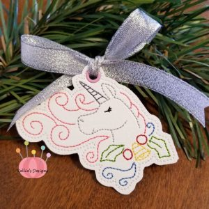 Whimsical Unicorn Ornament #8