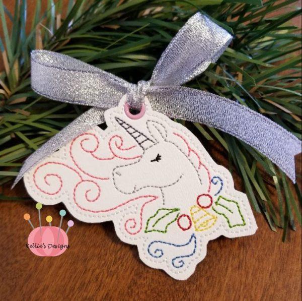 Whimsical Unicorn Ornament #8