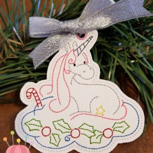 Whimsical Unicorn Ornament #9