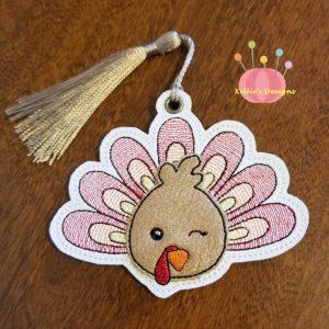 Turkey Applique Ornament