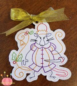 Nutcracker Ornament 6