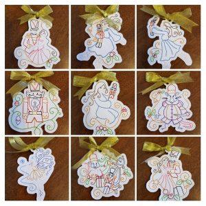 Nutcracker Christmas Ornament Set