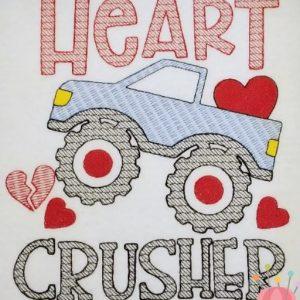 Heart Crusher 6x7
